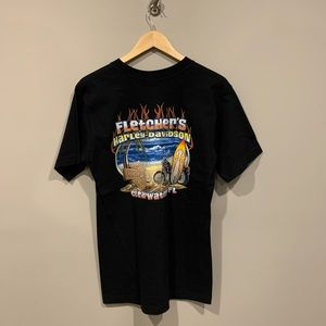 Harley-Davidson Shirts - Fletcher's Harley Davidson Florida Biker T-Shirt